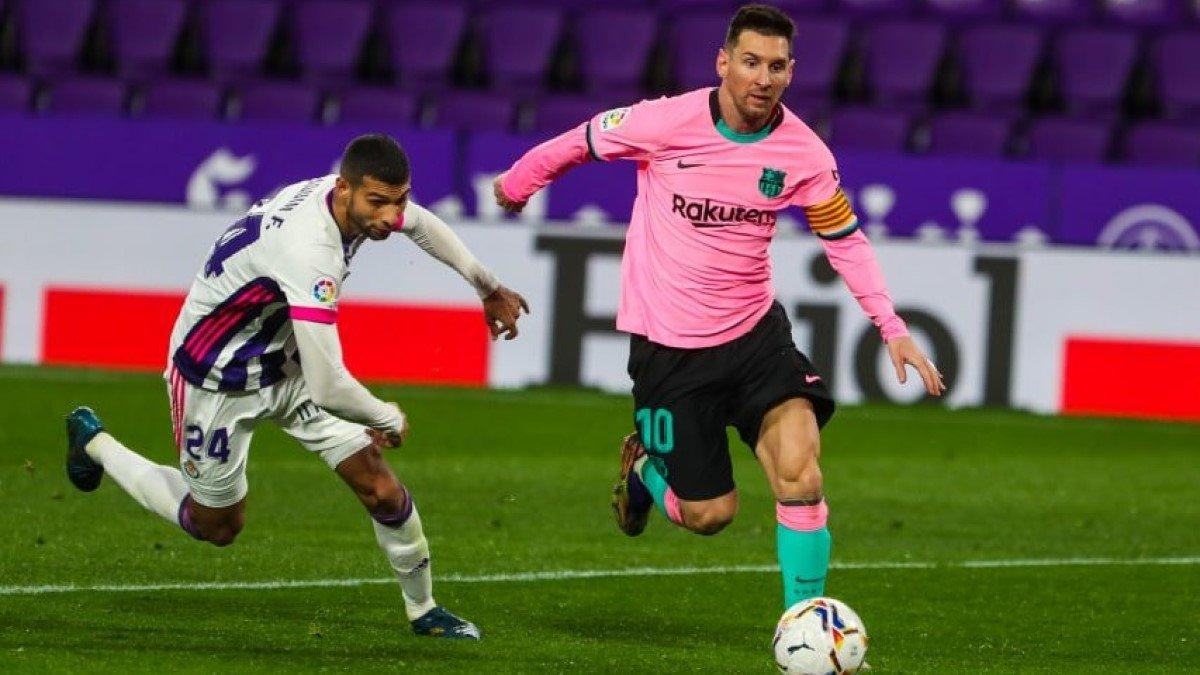 Рекордный гол Месси в видеообзоре матча Вальядолид – Барселона – 0:3