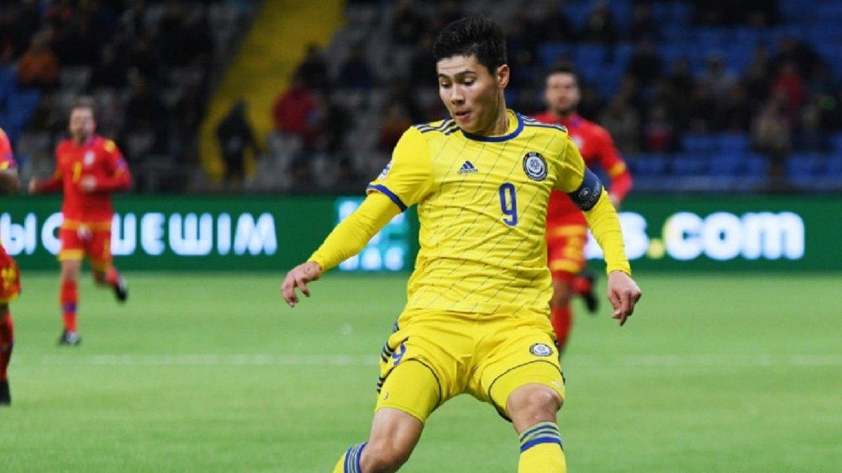 Збірна Казахстану втратила капітана через допінг-скандал – він не зіграє проти України у відборі на чемпіонат світу