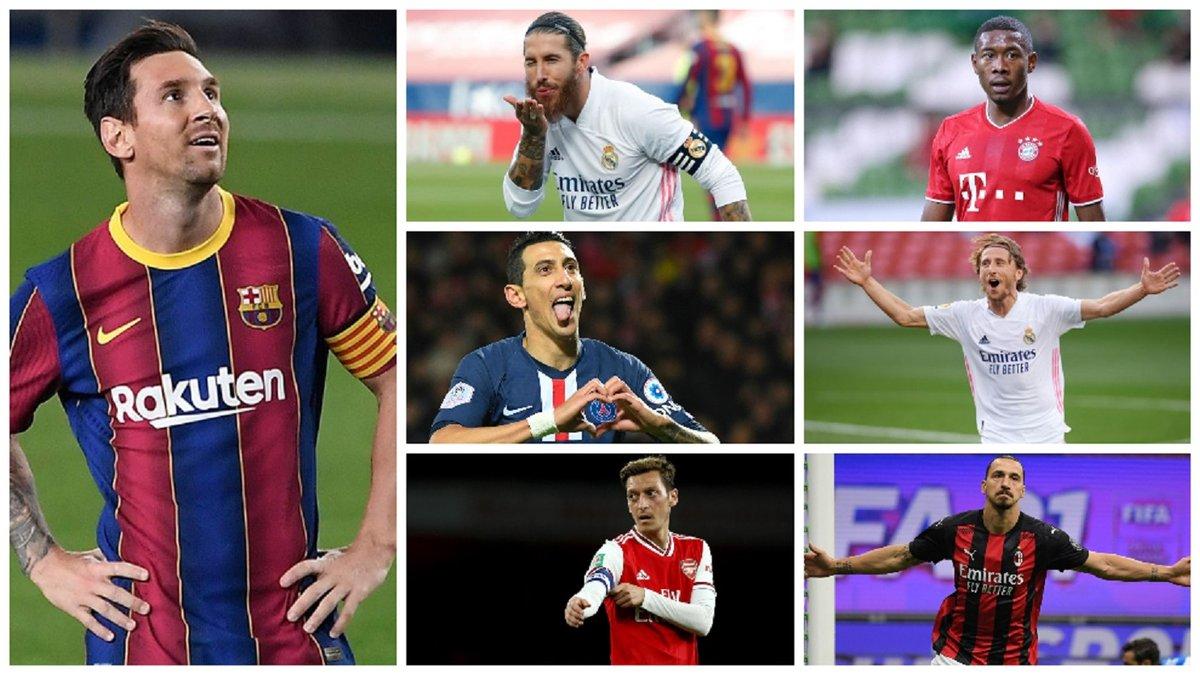 """7 """"Золотих м'ячів"""" – на трансферному ринку: Барса, Реал, Баварія і Ман Сіті ризикують втратити лідерів у 2021-му"""
