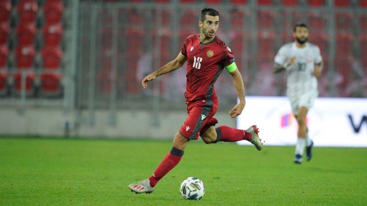 Мхитарян отреагировал на десятую подряд награду лучшему игроку Армении