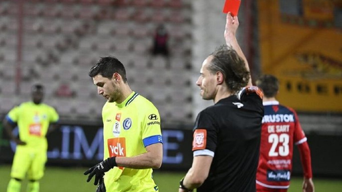 Яремчук извинился за глупое удаление в матче против Кортрейка