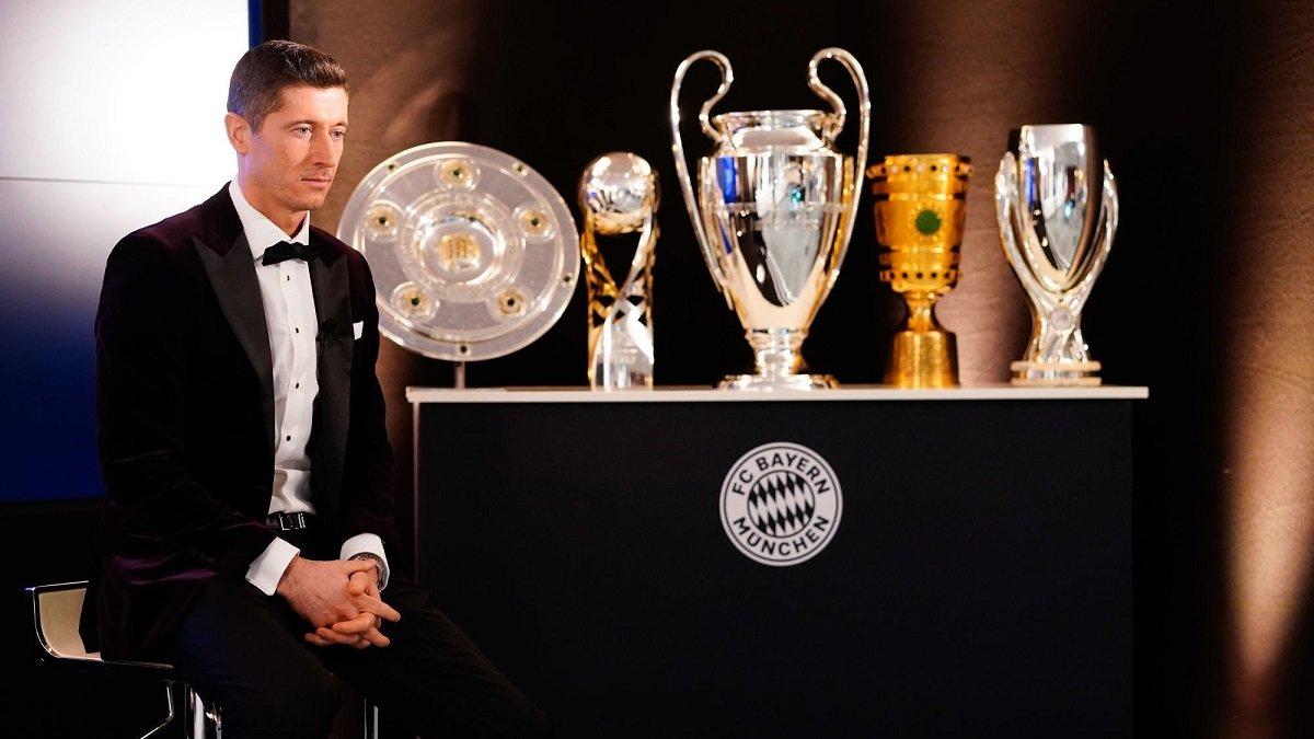 Лєвандовскі перервав гегемонію Роналду, ставши переможцем Globe Soccer Awards-2020