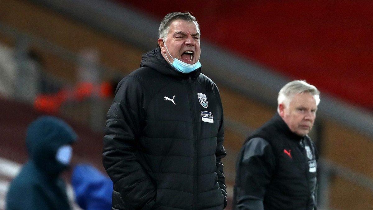 Эллардайс не сдерживал эмоций после сенсационной ничьей с Ливерпулем – доза комплиментов от тренера Вест Бромвича