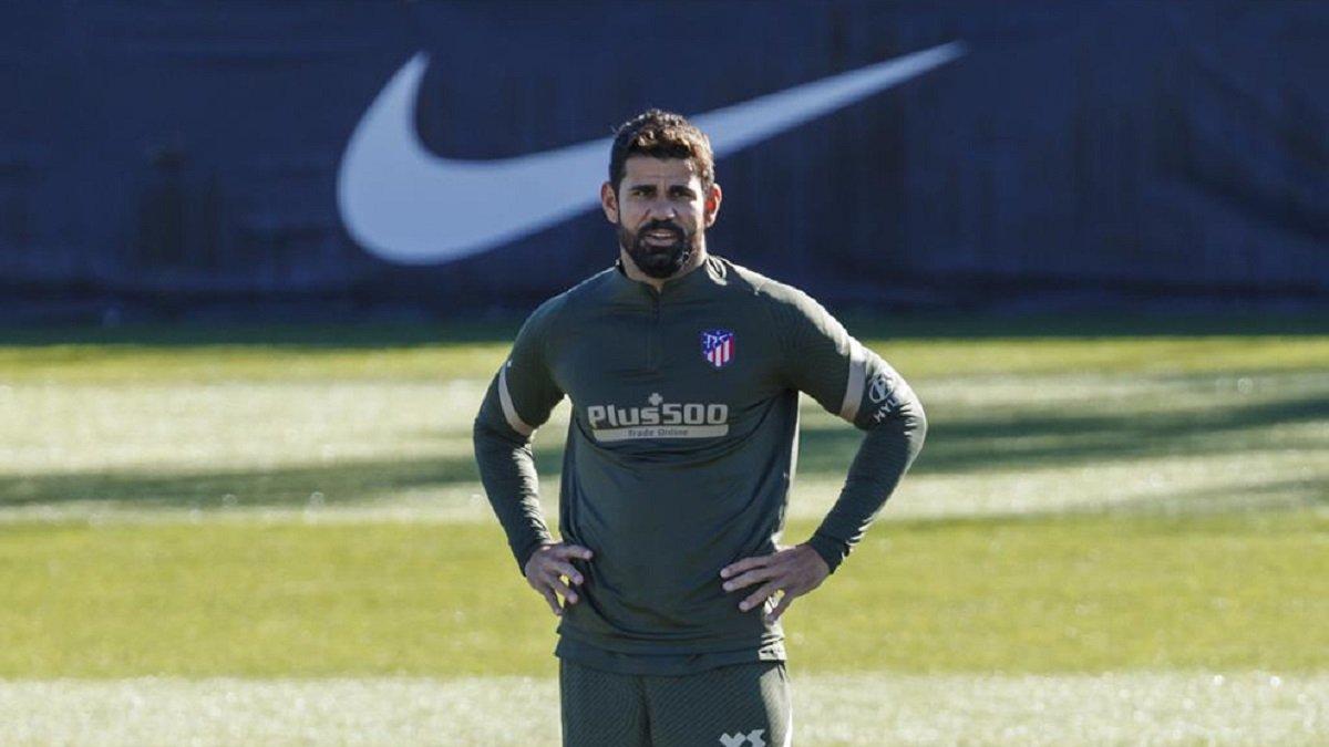Дієго Коста не тренується з Атлетіко через бажання покинути клуб