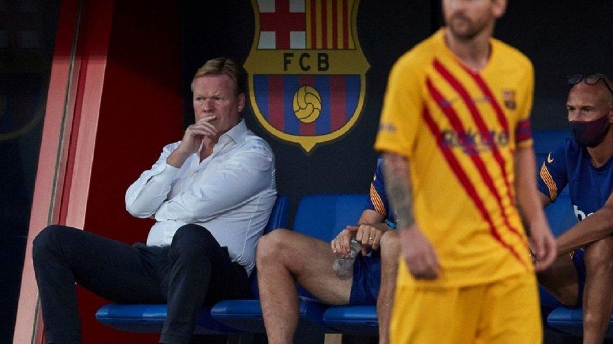 Куман объяснил отсутствие Месси в заявке на следующий матч Барселоны
