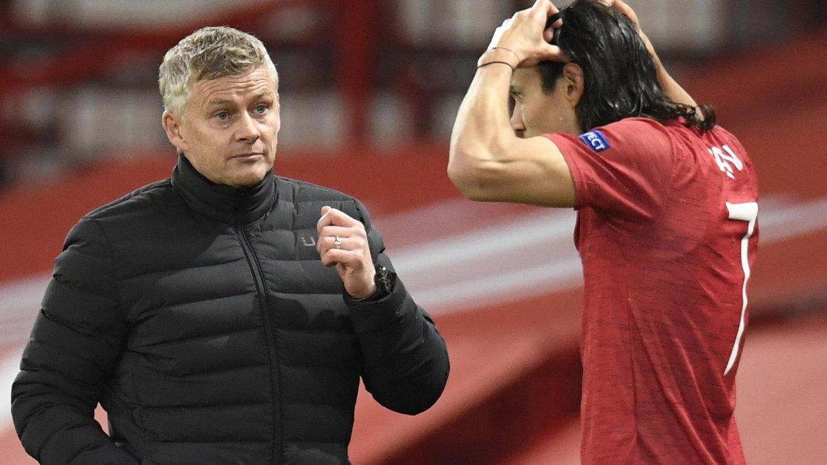 Сульшер оценил игру Кавани в Манчестер Юнайтед