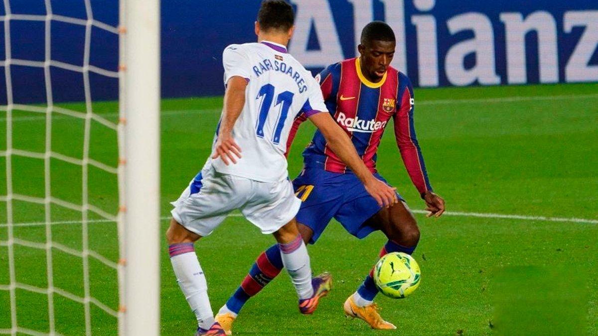 Барселона розписала сенсаційну нічию з Ейбаром і втратила шанс піднятись у зону Ліги чемпіонів