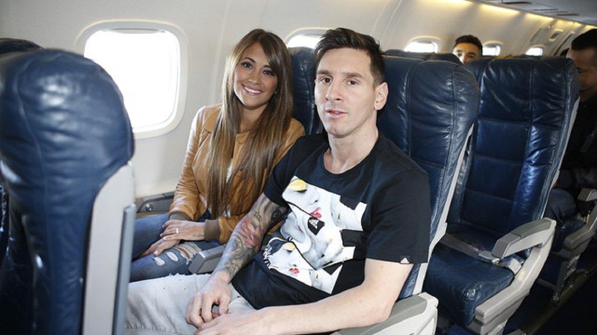 Месси вернулся в Барселону после аргентинских каникул и сразу отправился на Камп Ноу