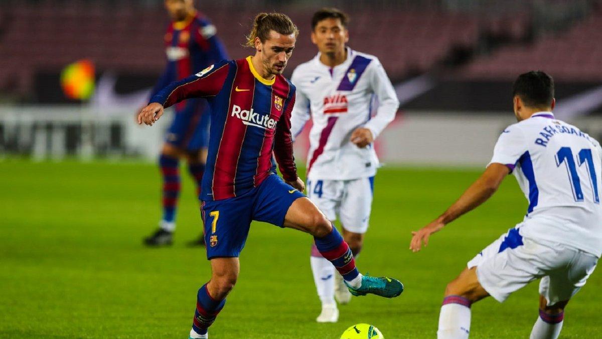 Барселона – Эйбар – 1:1 – видео голов и обзор матча