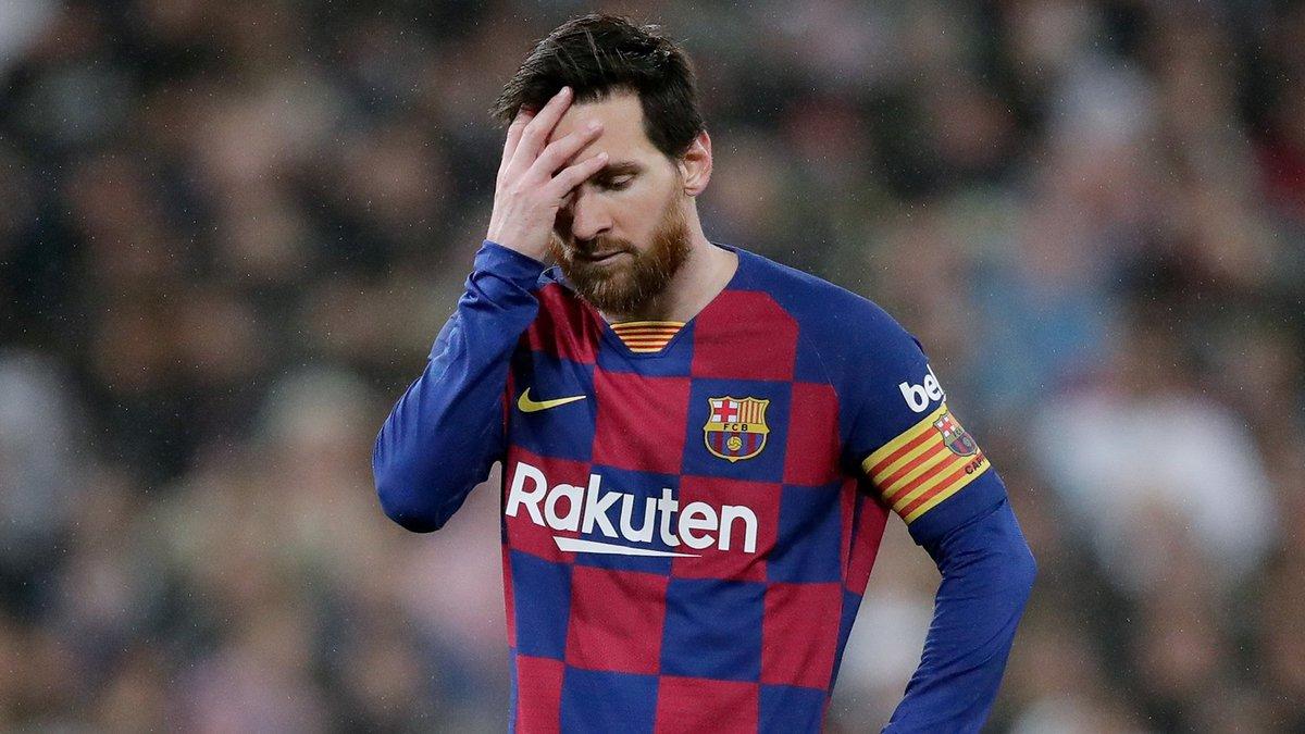 Месси красноречиво отреагировал на очередное фиаско Барселоны – видео разочарования Лионеля подорвало сеть