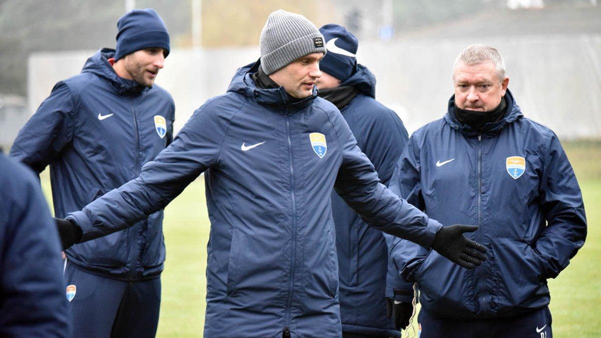 Маркевич пожаловался на долгое пребывание Мариуполя в дороге в первом круге УПЛ – нашелся и позитив