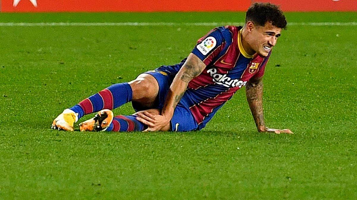 Барселона зробила офіційну заяву щодо травми Коутінью – хавбеку потрібна операція