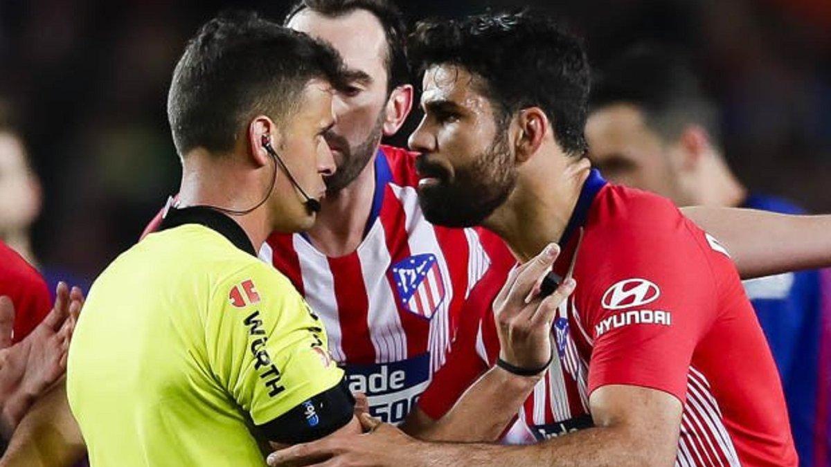 Коста попрощался с Атлетико – форвард все же может быть эмоциональным