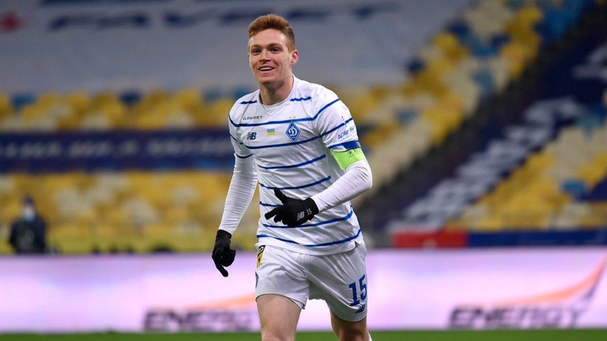 Циганков визнаний найкращим гравцем Динамо у 2020 році – півзахисник більш ніж удвічі випередив конкурентів