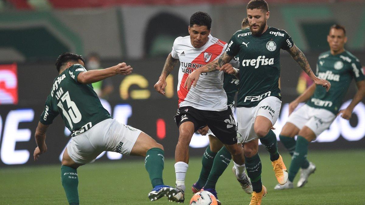 Рівер Плейт у меншості здолав Палмейрас, однак не зміг пробитися у фінал Кубка Лібертадорес