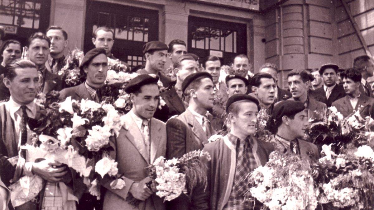 """""""У СРСР ми пили відрами горілку"""": турне збірної Басконії – вони грали, їхніх рідних вбивали, чорні телеграми і жах НКВС"""