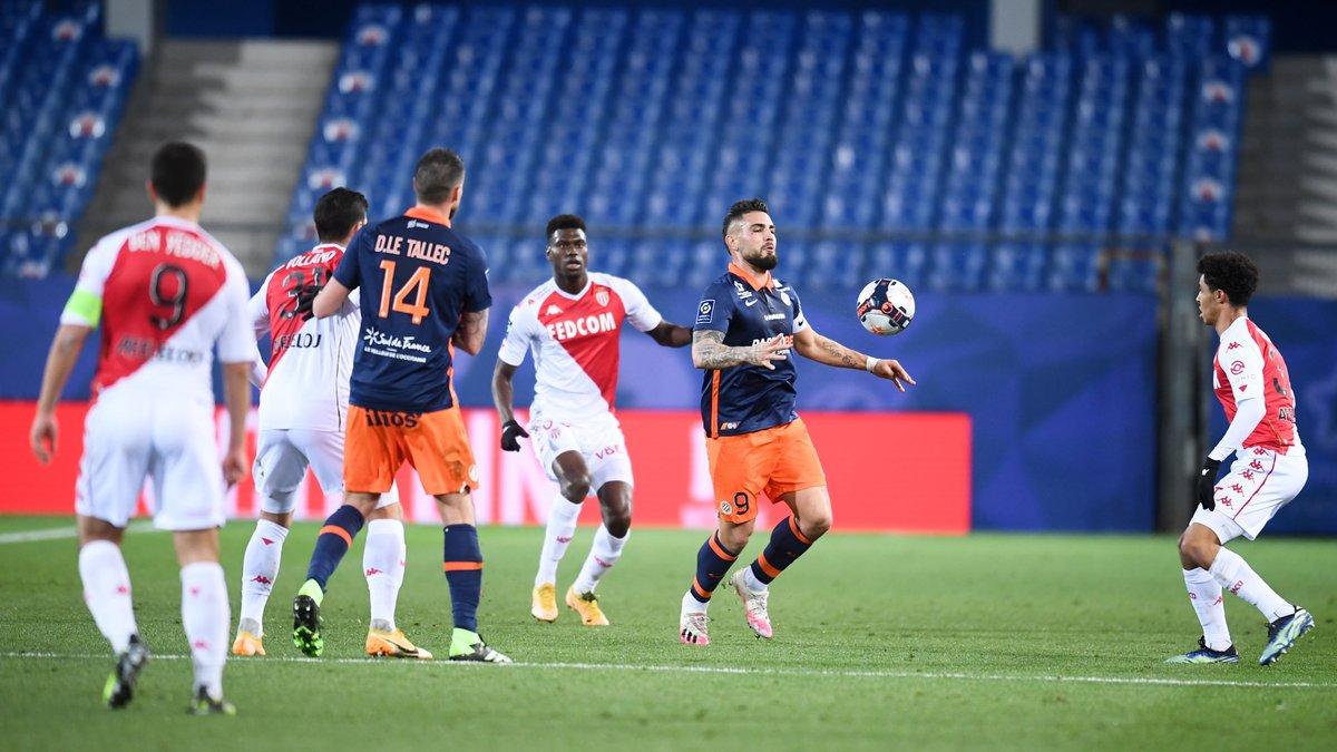 Монако переиграл Монпелье в поединке с 5-ю голами