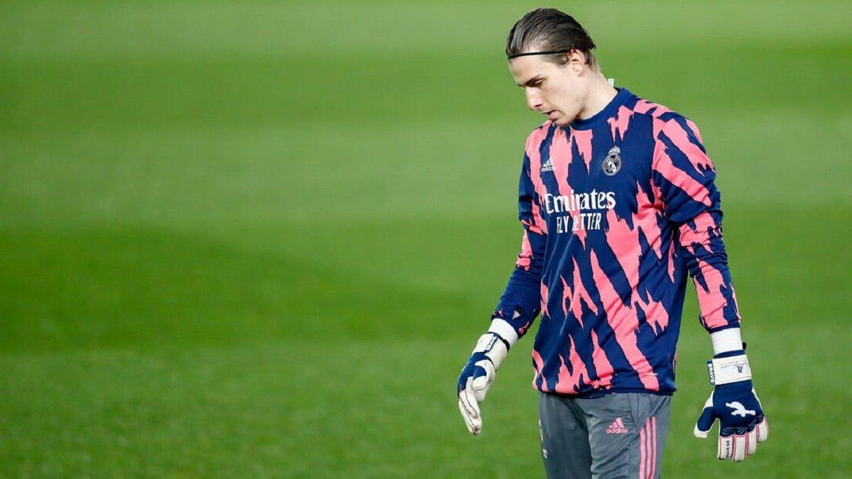Лунин готовится к дебюту за Реал – голкипер сборной Украины получил обещание от Зидана