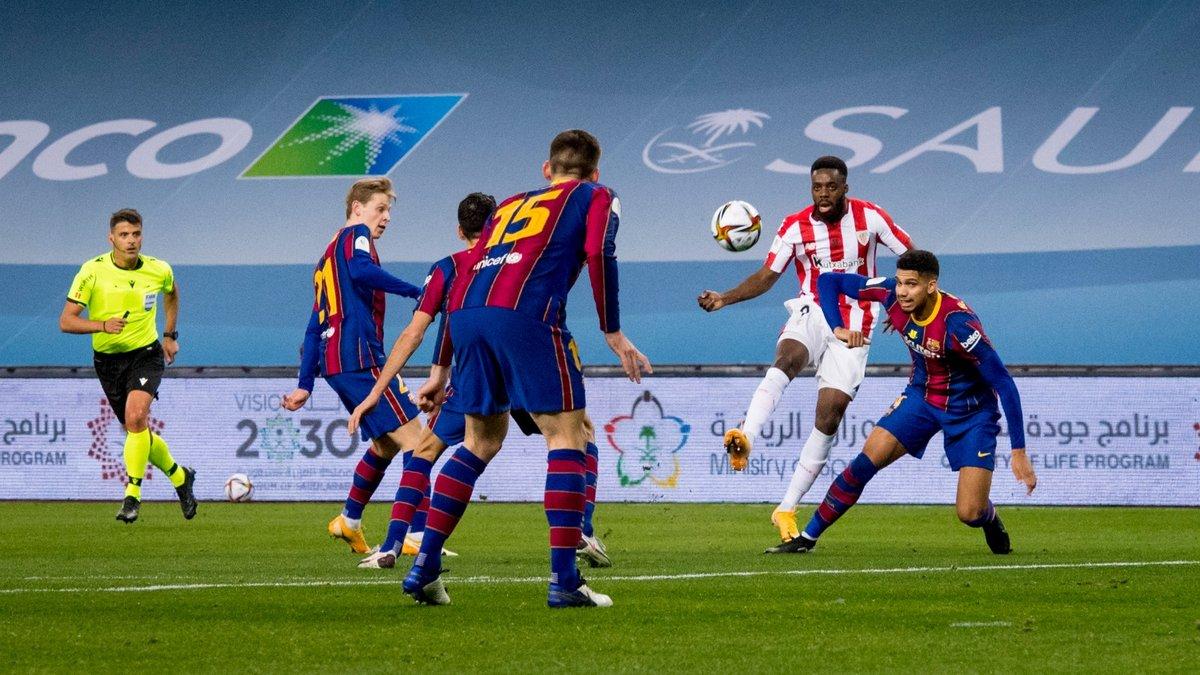 Барселона – Атлетік – 2:3 – відео голів та огляд фіналу Суперкубка Іспанії з історичним вилученням Мессі