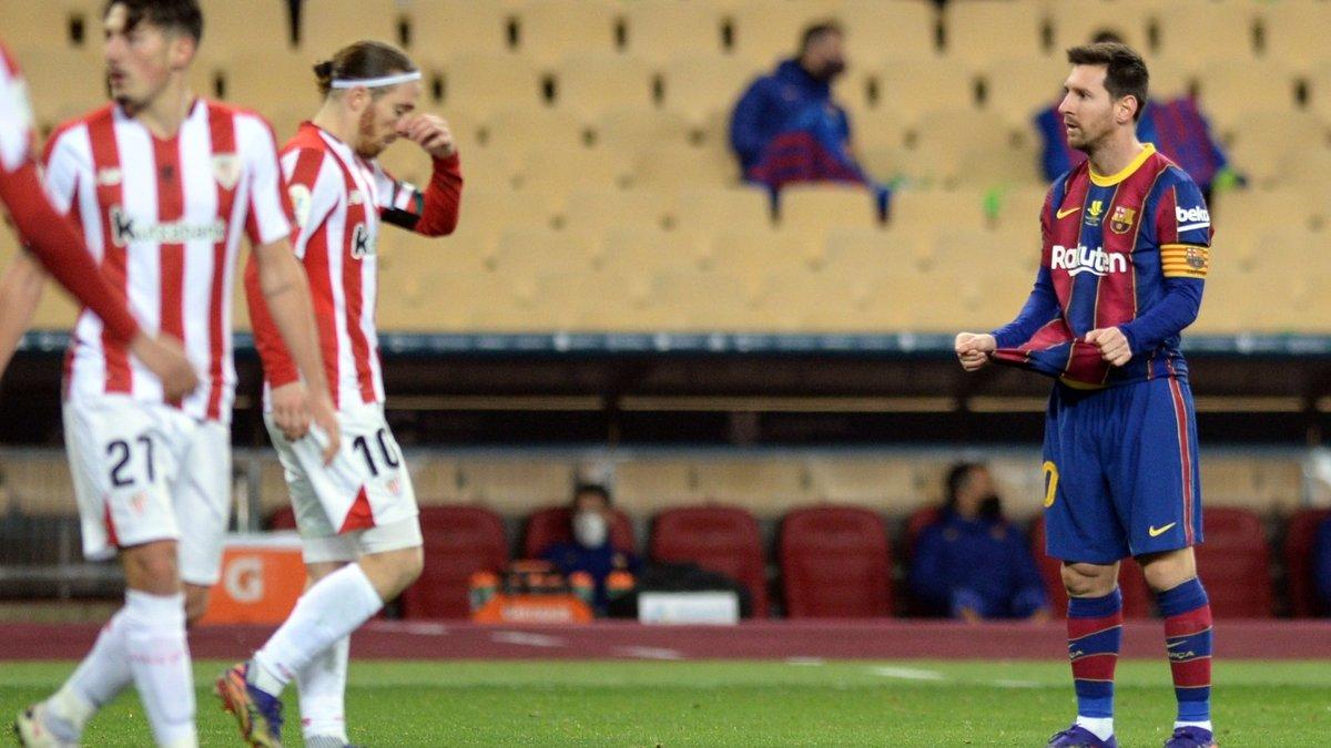 Атлетик феноменальным голом прибил Барселону и выиграл Суперкубок Испании – Месси в тени Гризманна и с позором