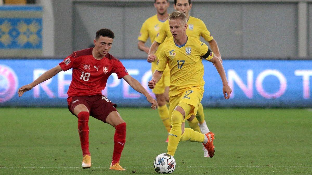 Швейцарія – Україна: відома дата слухання апеляції щодо технічної поразки команди Шевченка