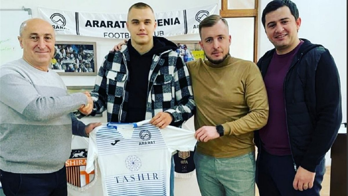 Екс-захисник Львова Клименчук перейшов до чемпіона Вірменії