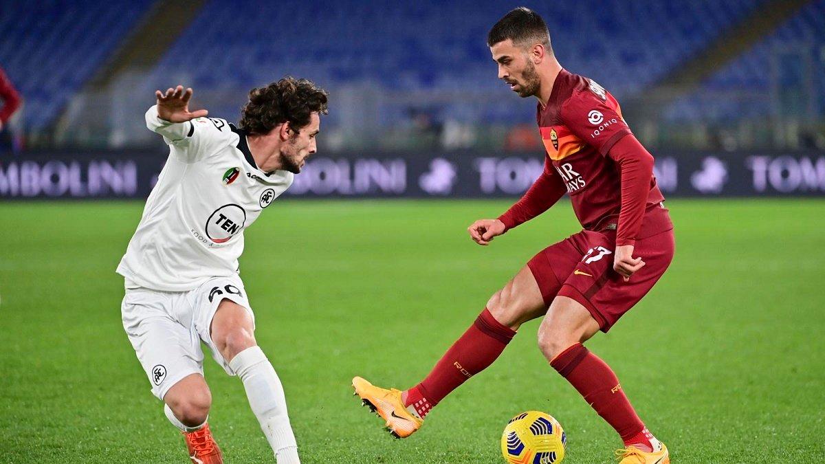 Рома вдевятером сенсационно вылетела из Кубка Италии – Наполи получил неудобного соперника