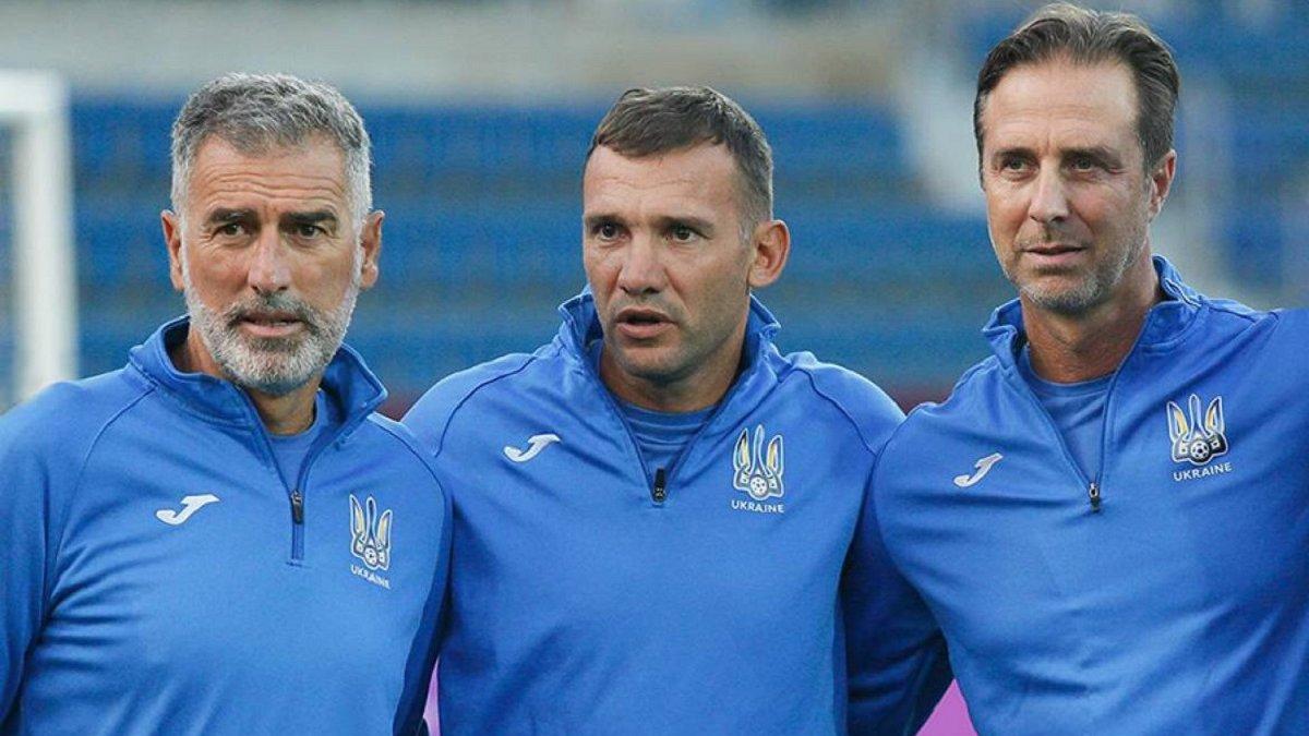 Шевченко пригласил в тренерский штаб сборной Украины еще одного итальянца