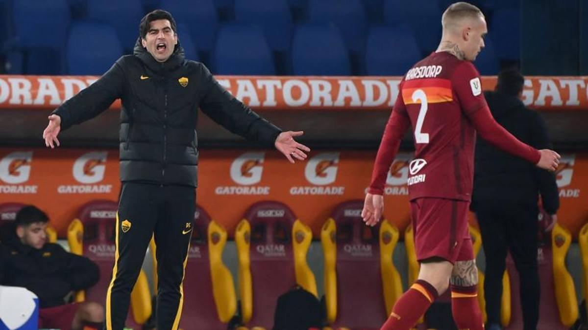 Рома нарвалась на техническое поражение в уже проигранном поединке Кубка Италии – полное фиаско Фонсеки