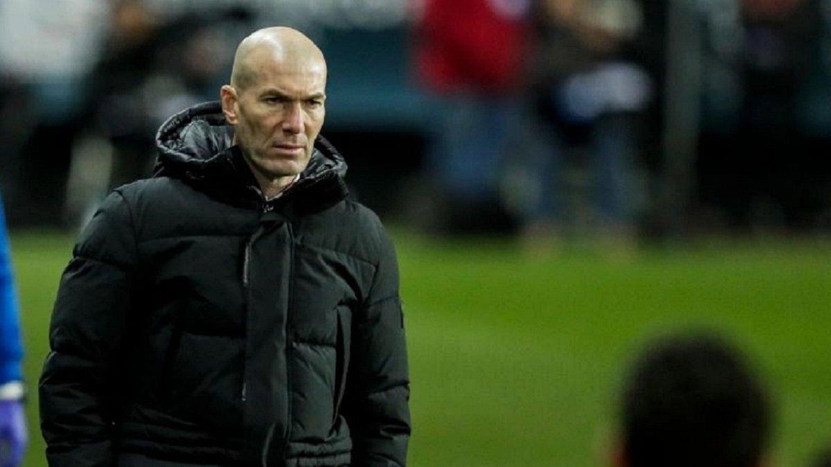 Зідан назвав відповідального за виліт Реала з Кубка Іспанії
