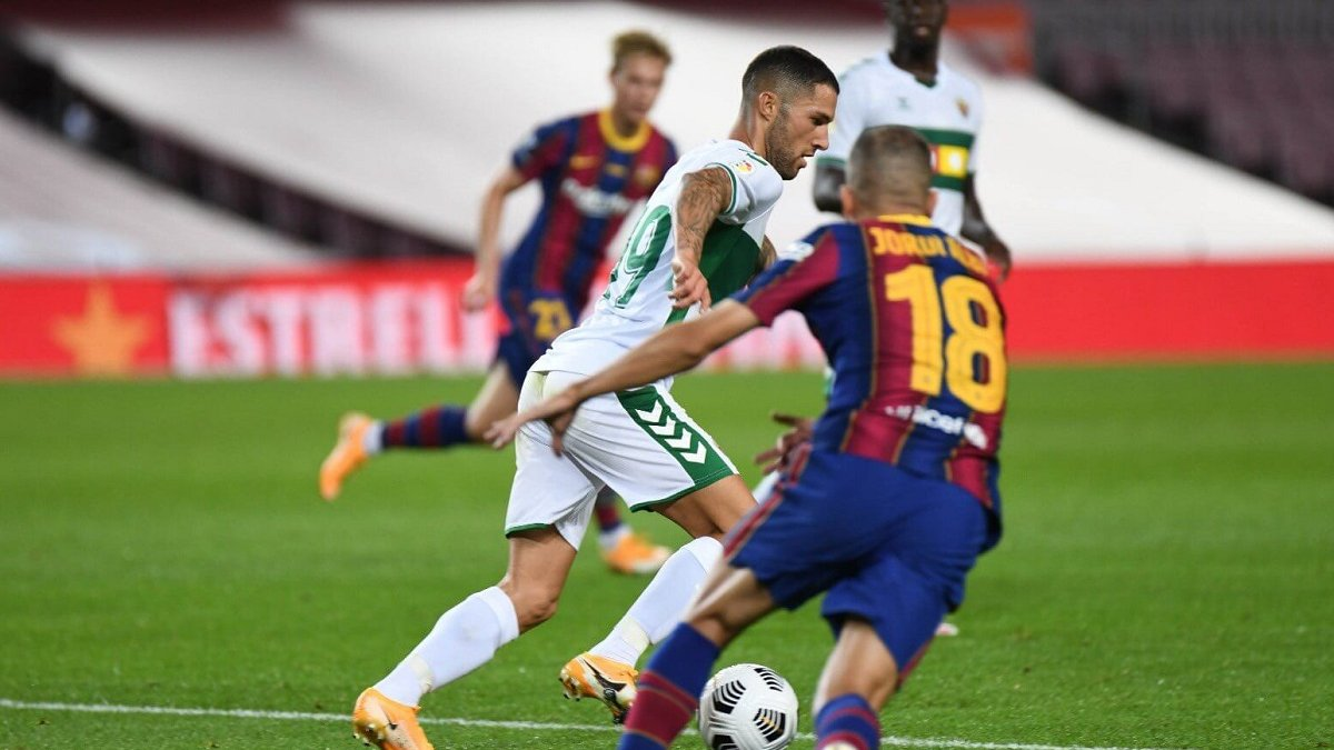 Эльче – Барселона: онлайн-трансляция матча чемпионата Испании