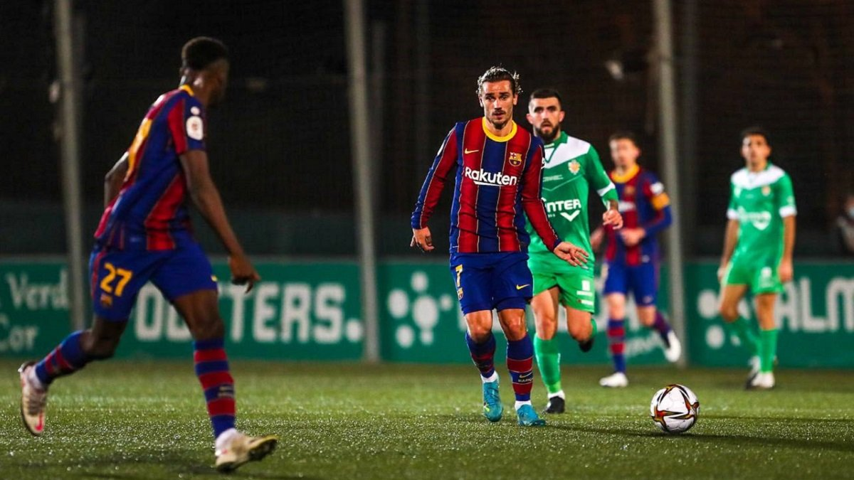 Валідольний крок Кумана назустріч Кубку Іспанії у відеоогляді матчу Корнелья – Барселона – 0:2