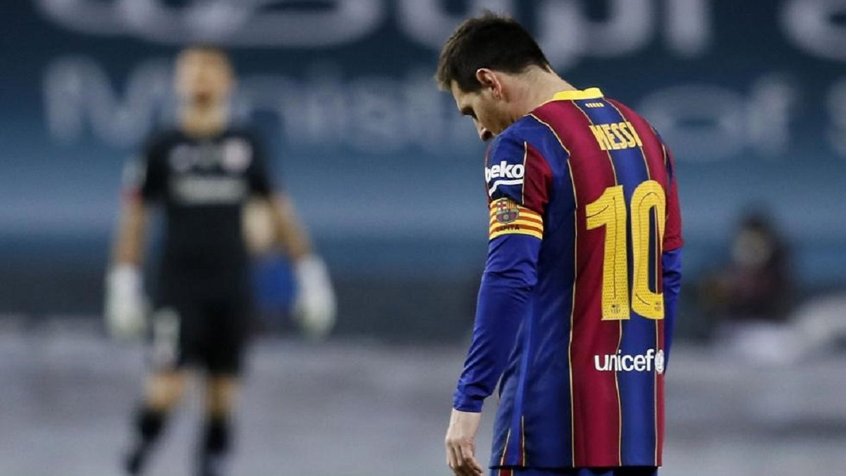 Мессі змушений відбути дискваліфікацію – апеляція Барселони відхилена