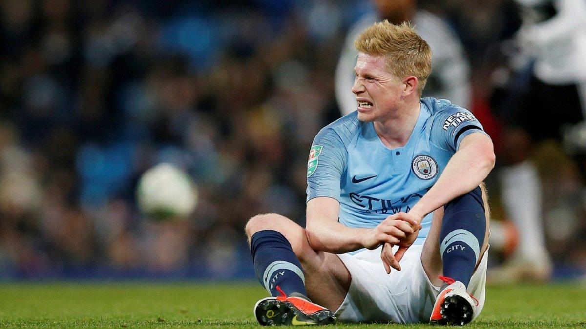 Де Брюйне не поможет Манчестер Сити в ближайших матчах – участие в дуэли с Ливерпулем под угрозой