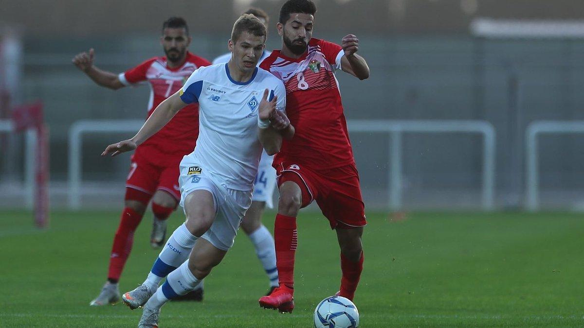 Динамо не обыграло сборную Иордании – печальное завершение первого сбора с очевидными проблемами