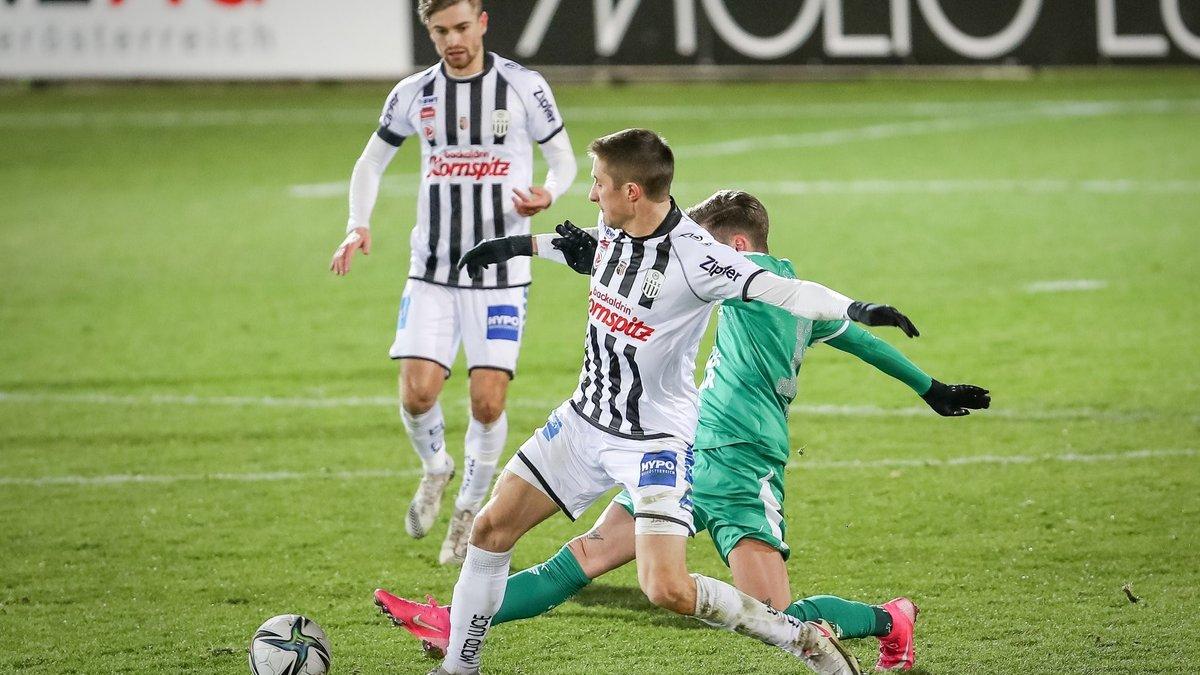 ЛАСК с Чеберко проиграл в матче с 6 голами в чемпионате Австрии – украинец стал одним из худших