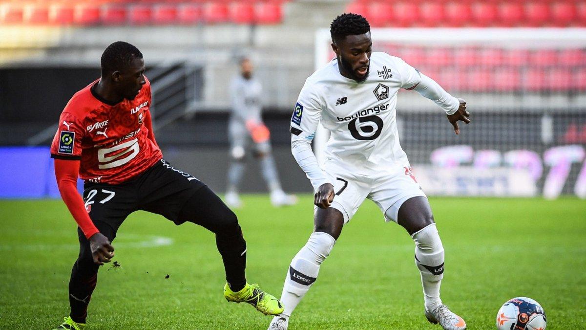 Лион разбомбил Сент-Этьен, Лилль догнал ПСЖ благодаря победе над Ренном: Лига 1, матчи воскресенья