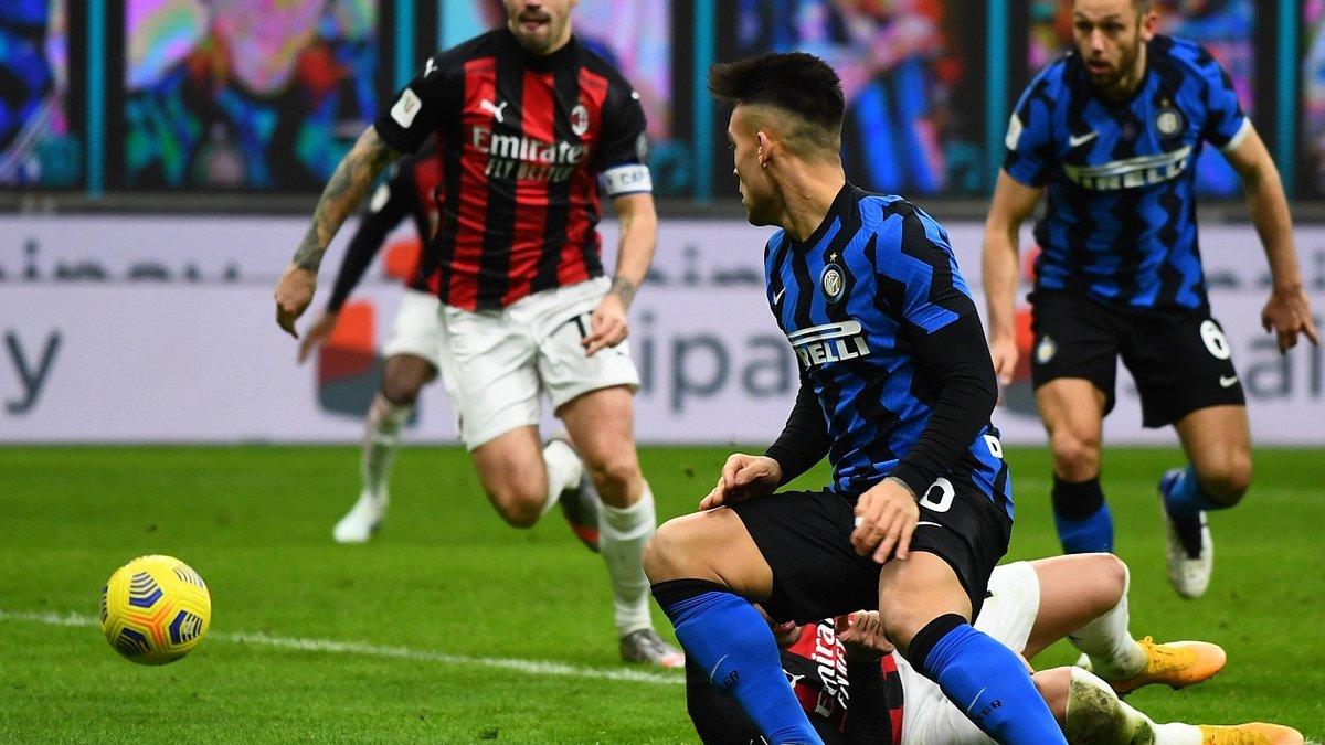 Удаление Ибрагимовича и победная красота от Эриксена в видеообзоре матча Интер – Милан – 2:1