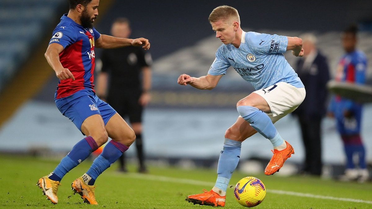 Зінченко в основі Манчестер Сіті на матч АПЛ – онлайн-трансляція