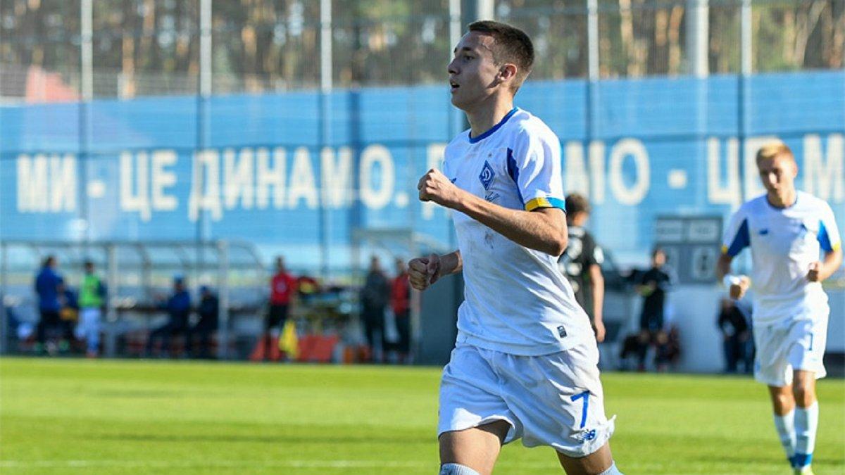 Луческу звернув увагу на форварда молодіжки Динамо