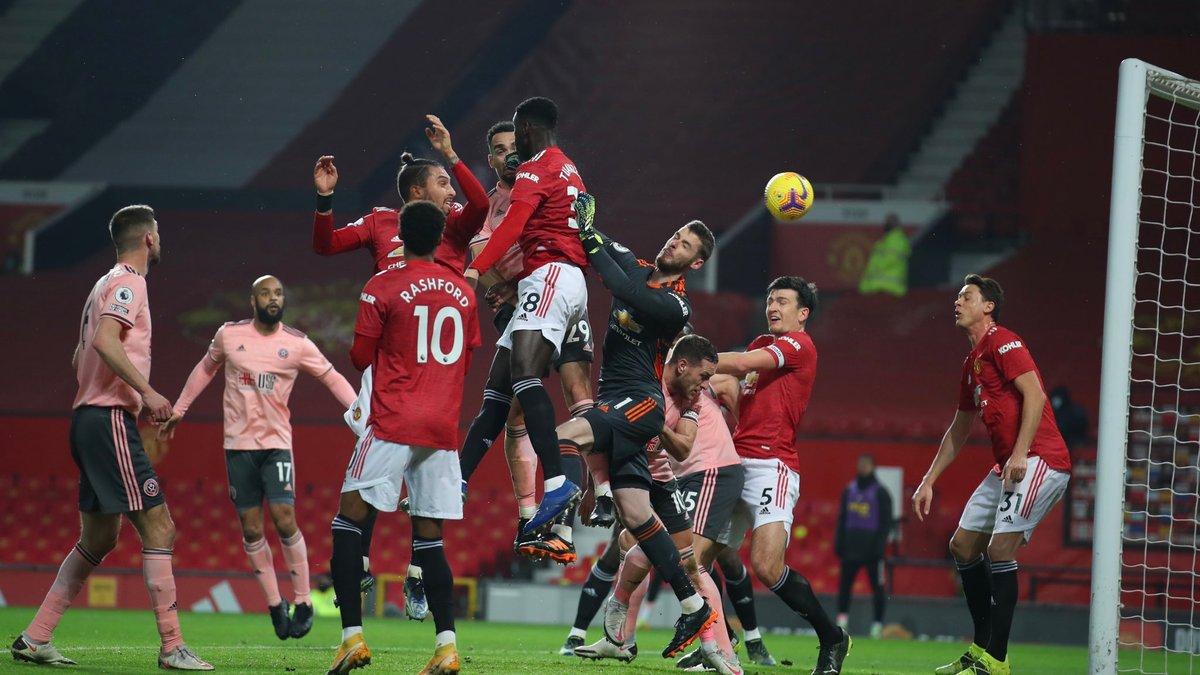 Манчестер Юнайтед – Шеффілд Юнайтед – 1:2 – відео голів та огляд матчу