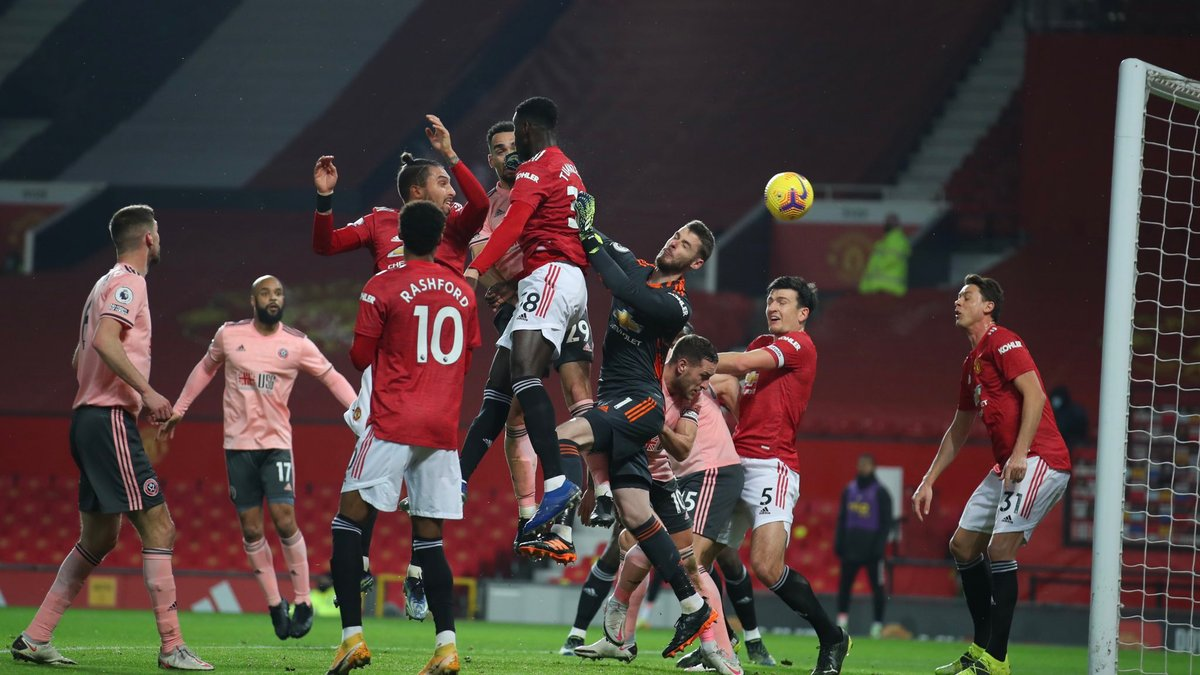 Манчестер Юнайтед – Шеффилд Юнайтед – 1:2 – видео голов и обзор матча