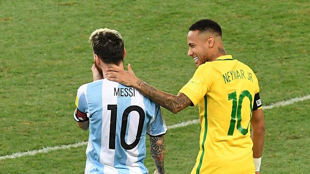Месси и Неймар попали в сборную десятилетия Южной Америки – только один игрок не из Аргентины или Бразилии