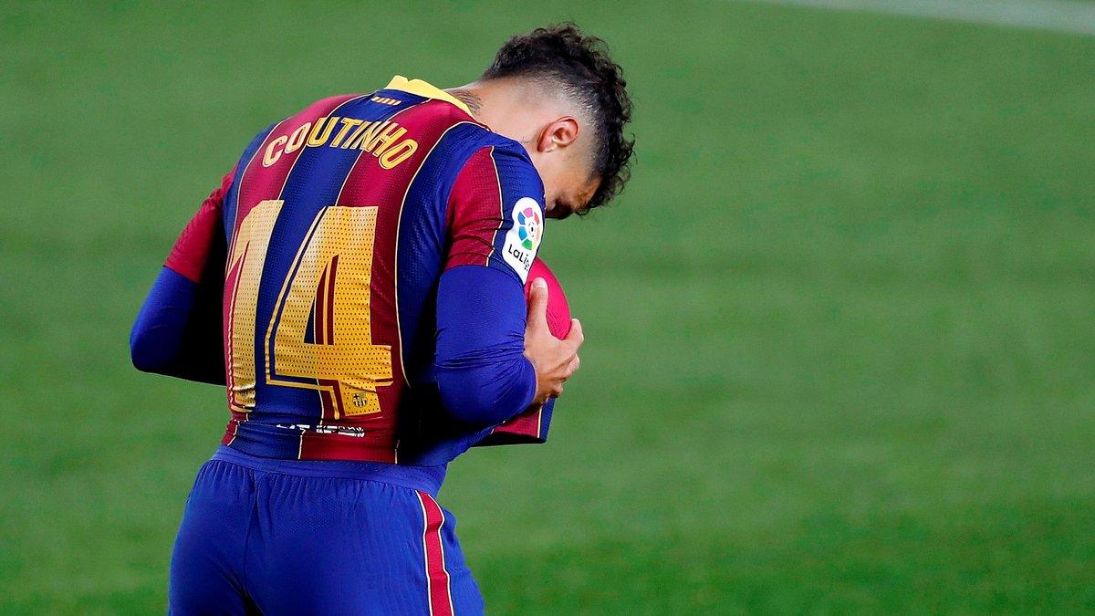 Коутінью ризикує більше не зіграти за Барселону – каталонці мають меркантильний інтерес