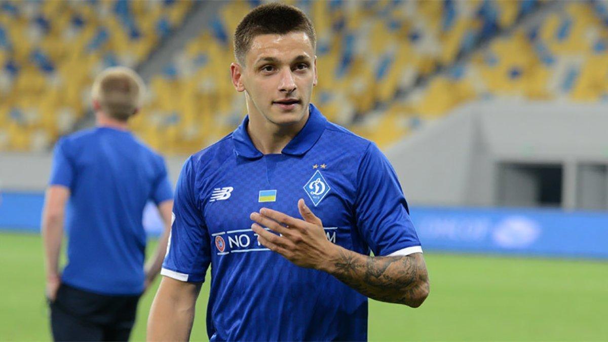 Миколенко потроллил партнера по Динамо за ужасный музыкальный вкус