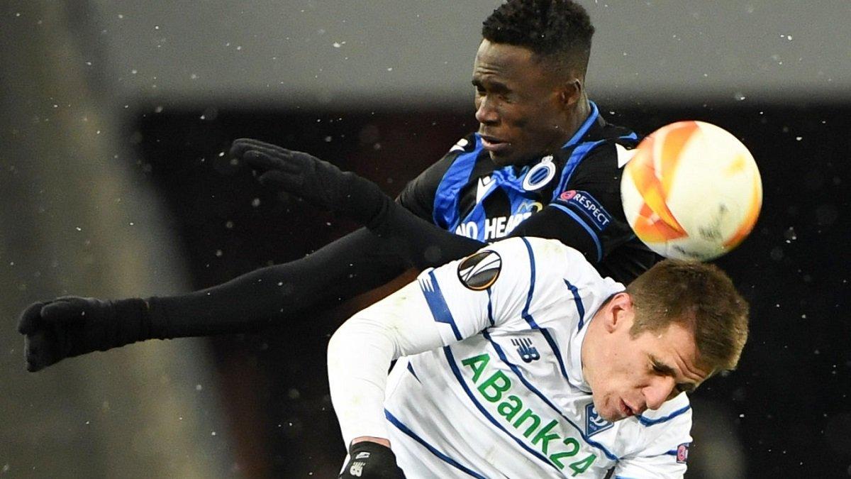 Динамо – Брюгге: Бєсєдін визнав свою провину в пропущеному голі