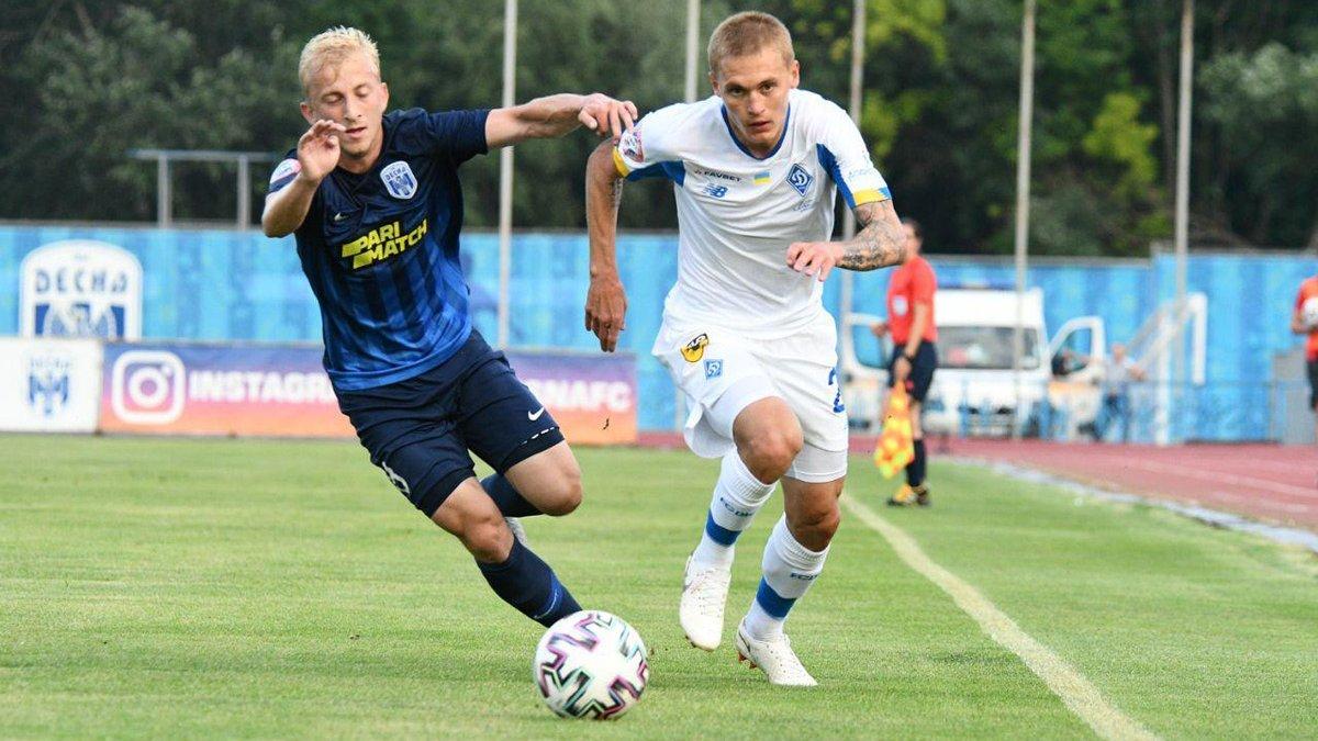 Десна – Динамо: онлайн-трансляция матча УПЛ – Луческу делает несколько изменений