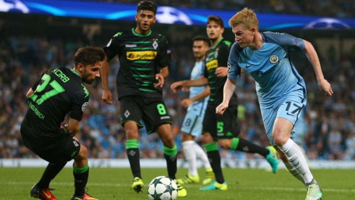 Боруссия М – Манчестер Сити:  онлайн-трансляция матча 1/8 финала Лиги чемпионов – как это было