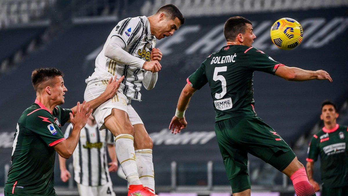 Дубль Роналду у відеоогляді матчу Ювентус – Кротоне – 3:0