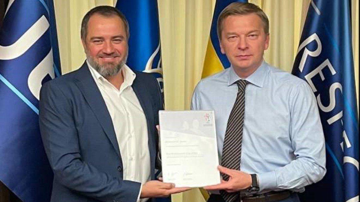 Шахтар отримав відзнаку від УЄФА за розвиток дитячого футболу